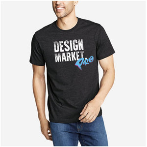 Men's Design Market Pro Shirt - Black