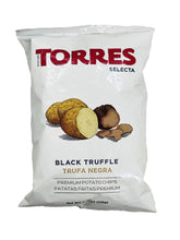Load image into Gallery viewer, Torres Selecta Potato Chips Black Truffle, 4.41 oz