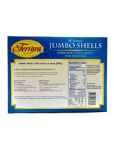 Load image into Gallery viewer, Ferrara Jumbo Shells, 12 oz