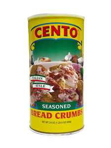 Cento Seasoned Bread Crumbs, 24 oz