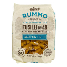 Load image into Gallery viewer, Rummo Gluten Free Fusilli N° 48, 12 oz