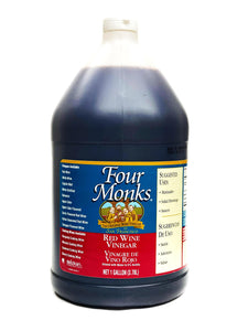 Four Monks Red Wine Vinegar, 1 Gal