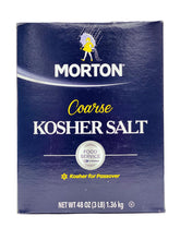 Load image into Gallery viewer, Morton Coarse Kosher Salt, 3lb