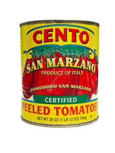 Cento Whole San Marzano Peeled Tomatoes, 28 oz