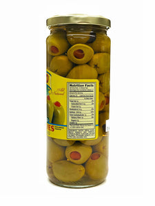 Cento Spanish Stuffed Queen Olives, 10 oz