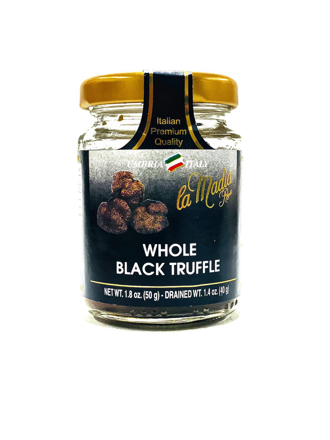 La Madia Regale Whole Black Truffle, 1.8 oz