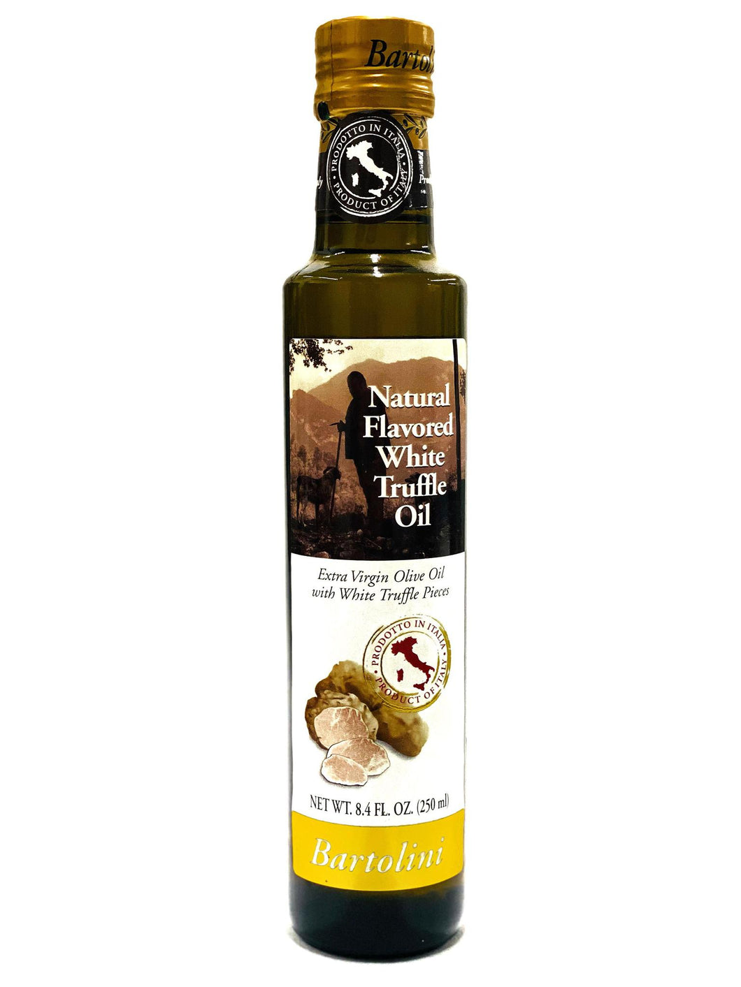 Bartolini Natural Flavored Black Truffle Oil, 3.4 fl oz