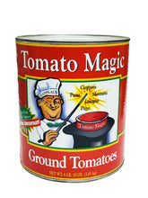 Load image into Gallery viewer, Tomato magic Ground Peeled Tomatoes, 6 lb 10 oz