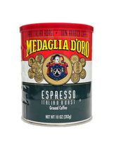 Load image into Gallery viewer, Medaglia D'oro Italian Roast Espresso Coffee, 10 oz