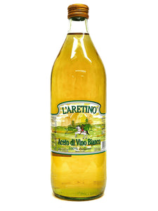 L' Aretino White Wine Vinegar, 33.8 fl oz