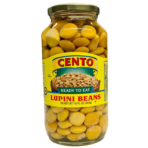 Cento Ready To Eat Lupini Beans, 16 fl oz