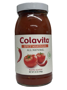 Colavita Spicy Marinara Sauce, 25 oz