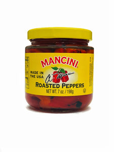 Mancini Roasted Peppers, 7oz