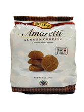 Load image into Gallery viewer, Bellino Amaretti Almond Cookies, 7 oz
