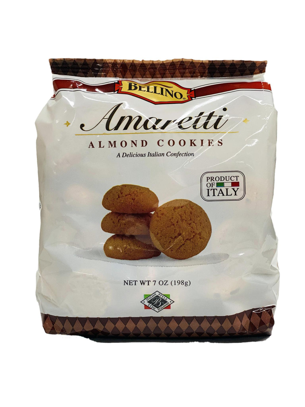 Bellino Amaretti Almond Cookies, 7 oz