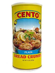 Cento Plain Bread Crumbs, 15 oz