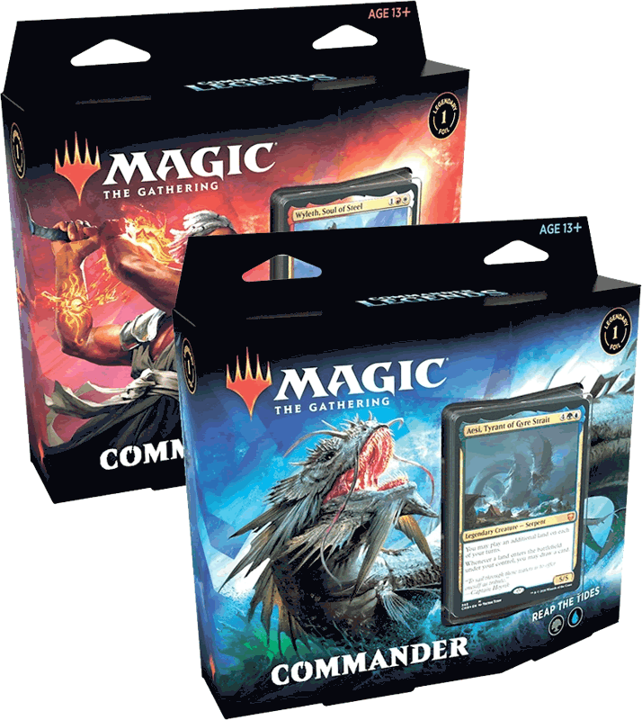 Magic the Gathering Commander Legends : Commander Decks