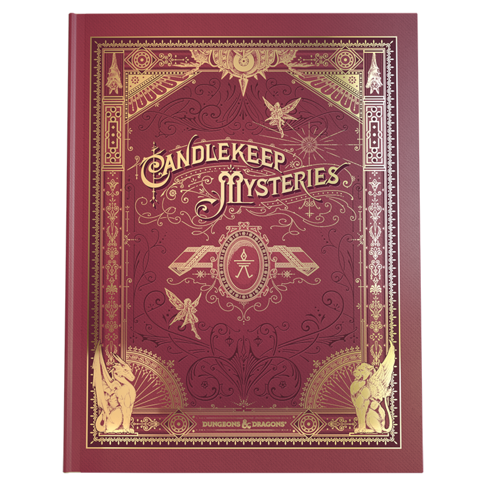 Dungeons & Dragons : Candlekeep Mysteries Alt-Cover