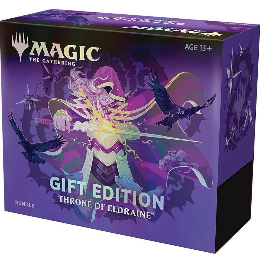 MAGIC: THE GATHERING THRONE OF ELDRAINE BUNDLE - HOLIDAY GIFT EDITION