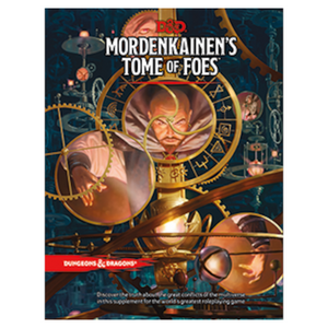 D&D - Mordenkainen's Tome of Foes