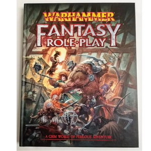 Warhammer Fantasy Roleplay 4th Edition Rulebook (WFRP4)