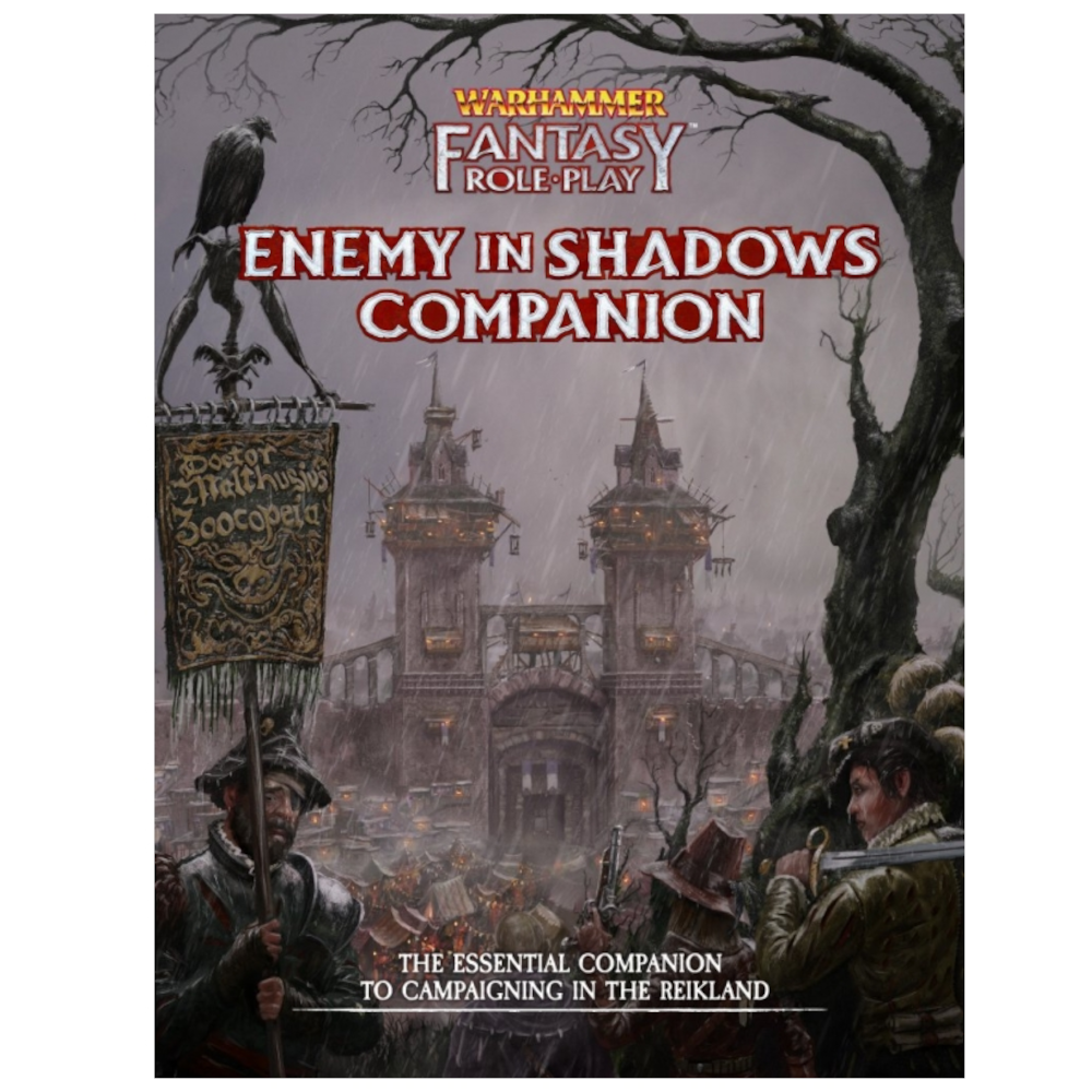 Enemy In Shadows Companion : Warhammer Fantasy Roleplay