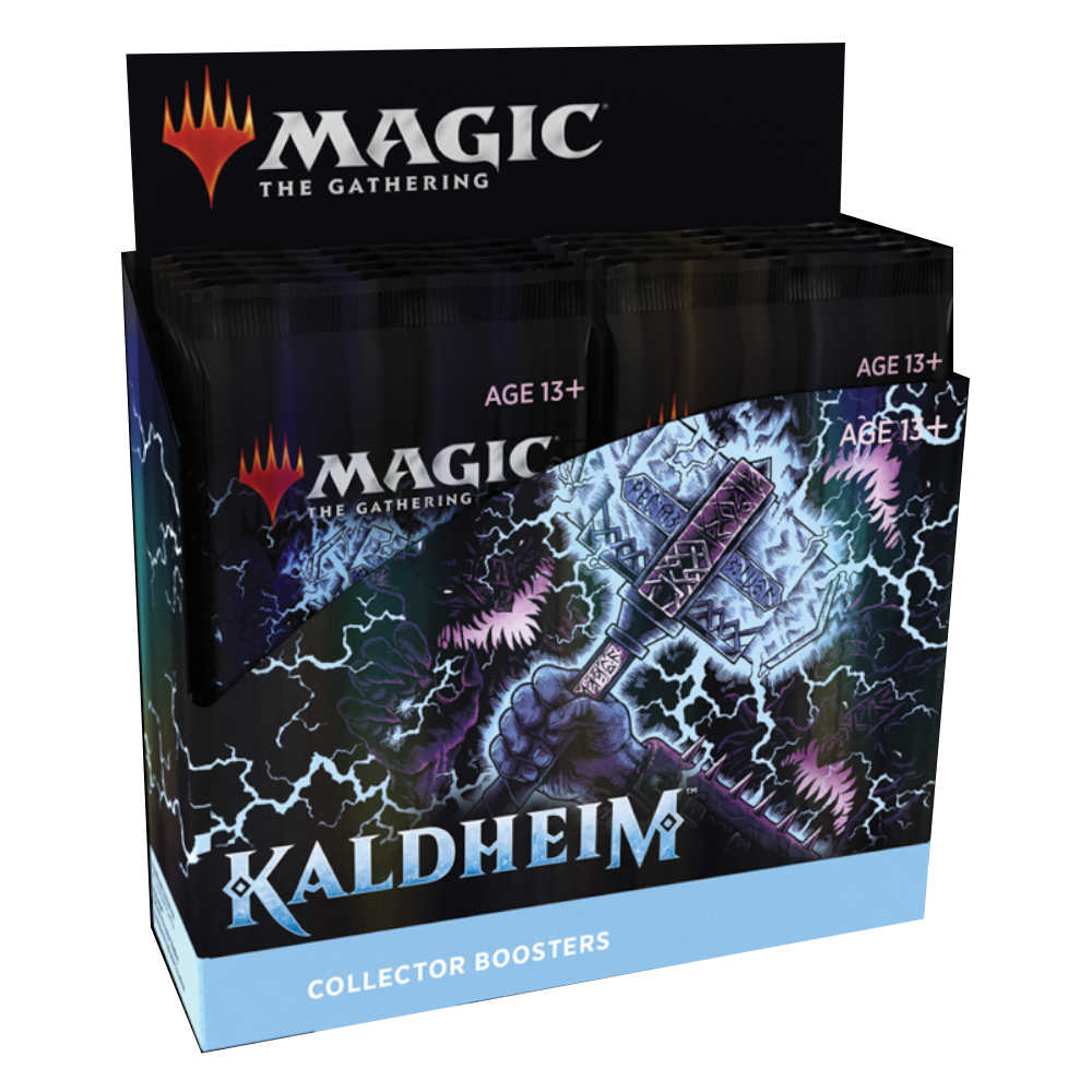 Magic: The Gathering Kaldheim Collector's Booster Box
