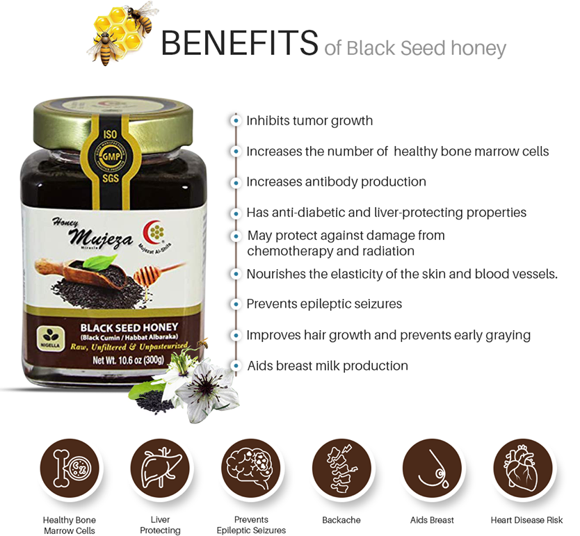 7 Benefits Of Black Seed Honey