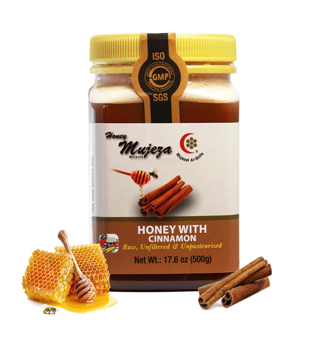 Wildflower Honey with Ceylon Cinnamon