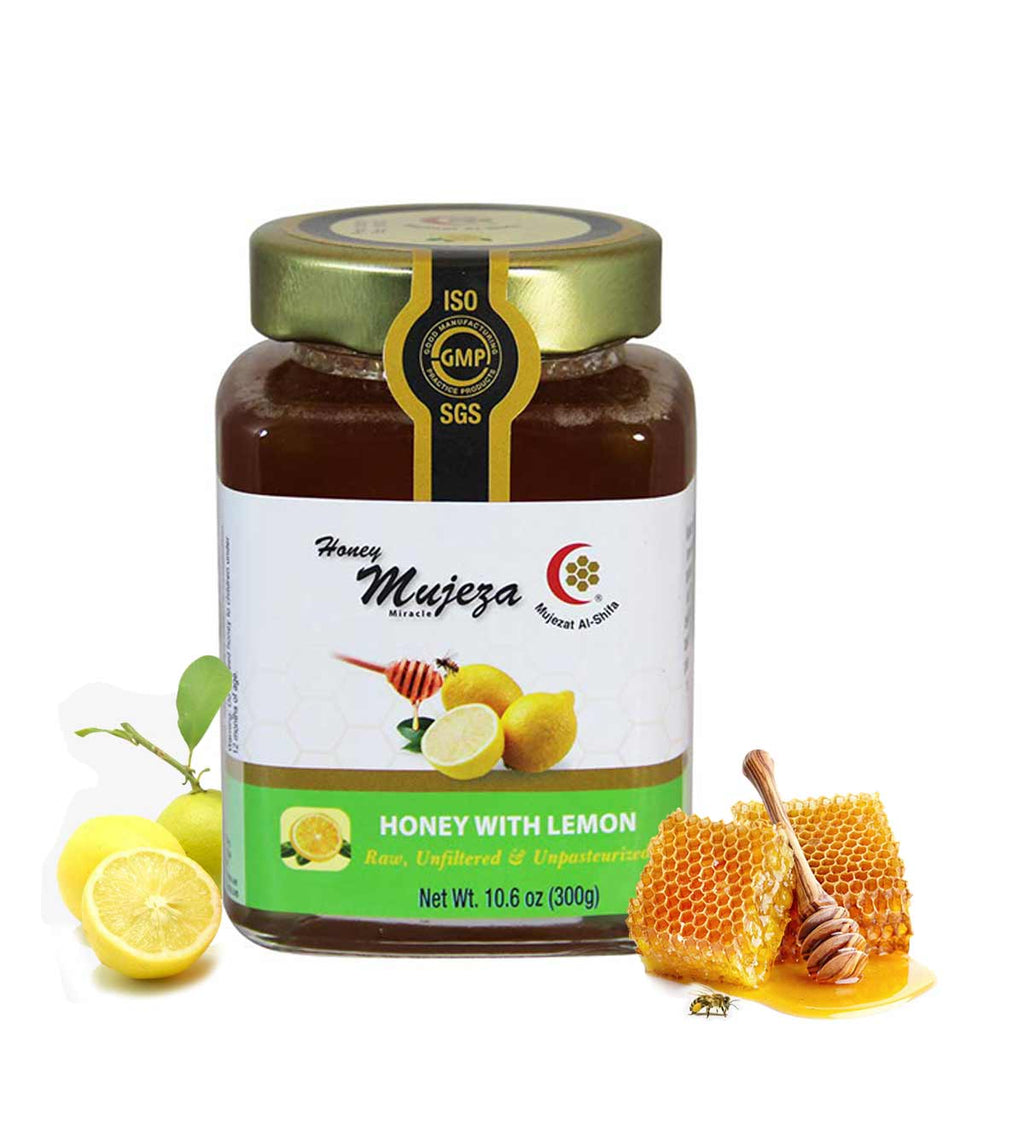 Wildflower Honey with Lemon