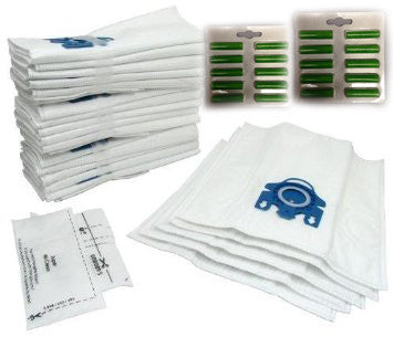20 X GN Style Micro Fibre Dust Bags - 20 x Fresheners and 8 x Filters! Miele Service Box  Radford Vac Centre  - 1