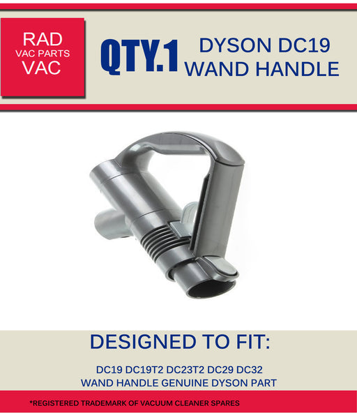 Dyson DC19 Genuine Wand Handle Assy 917276-01  Radford Vac Centre  - 1