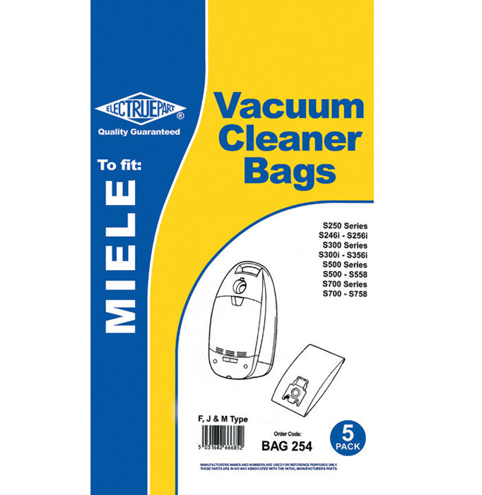 Miele FJM Style paper alternative dustbags  Radford Vac Centre  - 2