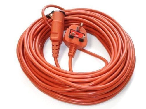 20 Metre Mains Power Lead Cable For Flymo Lawnmowers Hedge & Grass Trimmers  Radford Vac Centre  - 1