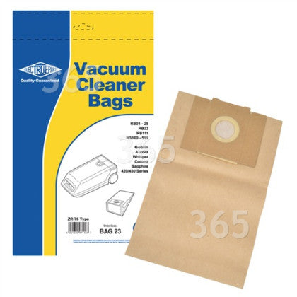 Goblin Whisper Vacuum Cleaner Bags For Sale Mansfield Notts