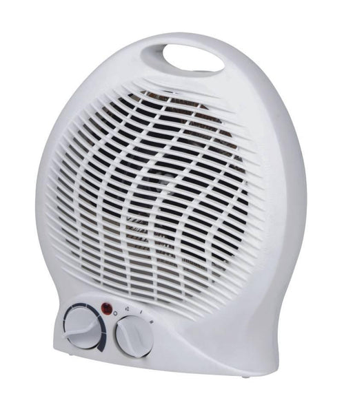 2000w Fan Heater - 2 Heat settings - Fan only setting - Thermostat Dial  Radford Vac Centre  - 1
