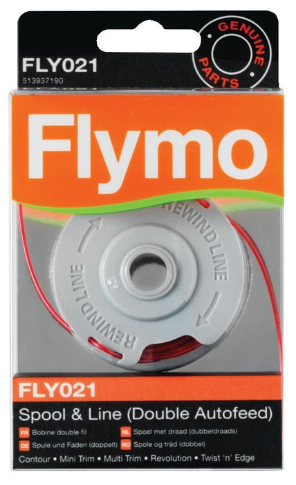 FLY021 Flymo Genuine spool and strimmer line  Radford Vac Centre  - 1