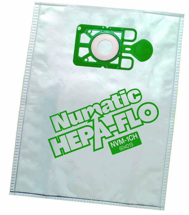 Genuine Numatic Hepa Flo dustbags for Henry Hetty James etc x 10  Radford Vac Centre  - 1