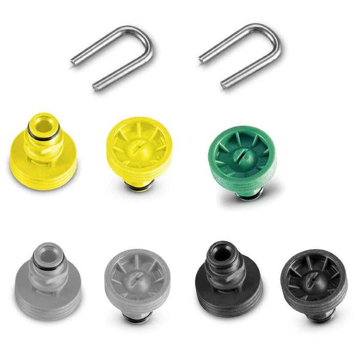 Karcher Pressure Washer Patio Cleaner Nozzle Set (9 Pieces)  Radford Vac Centre