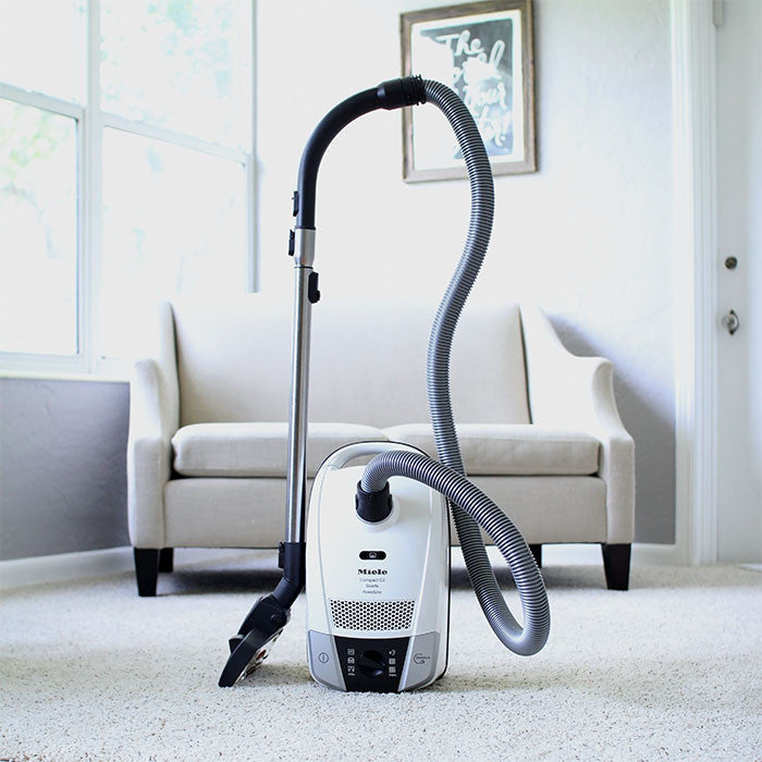 MIELE Compact C2 Allergy EcoLine Cylinder Vacuum Cleaner - Lotus White  Radford Vac Centre  - 3
