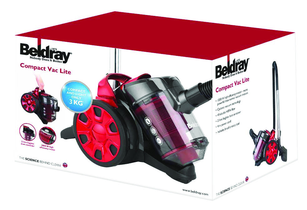 Beldray Compact Light Vacuum - BEL0456  Radford Vac Centre  - 7