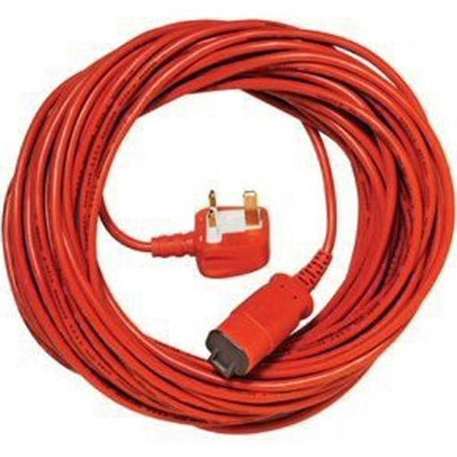 Genuine 15m Qualcast Mains Power Lead for Hedge & Grass Trimmers