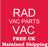 Radvac 2 in 1 Upright & Hand Held Vacuum  Radford Vac Centre  - 3