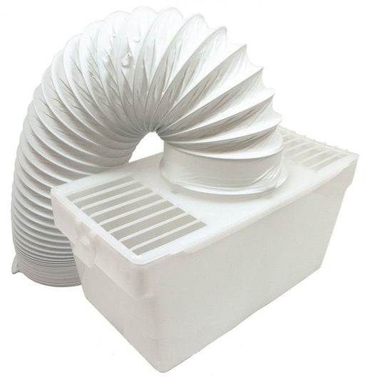 White Knight & Creda Universal Tumble Dryer Indoor Condenser Vent Kit Box Hose  Radford Vac Centre