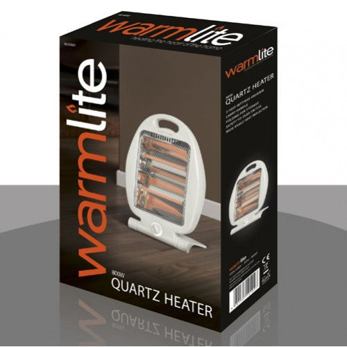 Folding Quartz 800w Heater with 2 heat settings!  Radford Vac Centre  - 1
