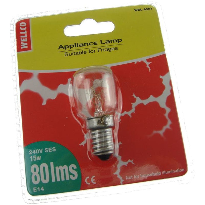 Whirlpool 15W E14 Fridge Incandescent Bulb Mansfield Nottingham Derby Chesterfield