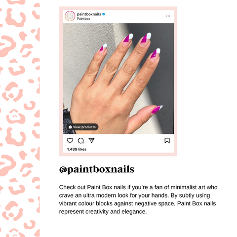 nail instagram social media account to follow for inspiration