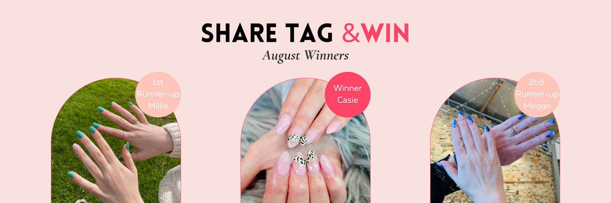 The Nail Bar Beauty & Co. Monthly Prizes
