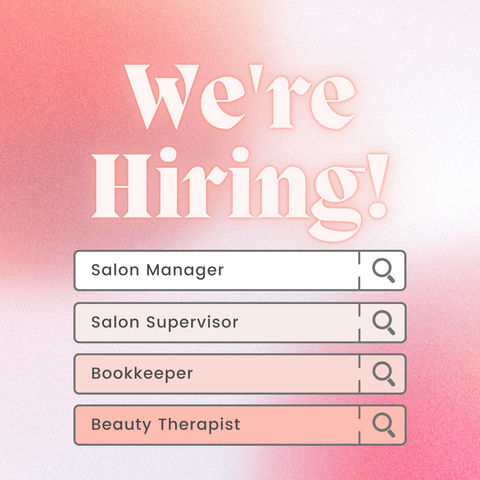 The Nail Bar Beauty & Co. Job Opportunities