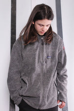Load image into Gallery viewer, Vintage 90s Patagonia Synchilla Grey Zip-up Fleece. XL.